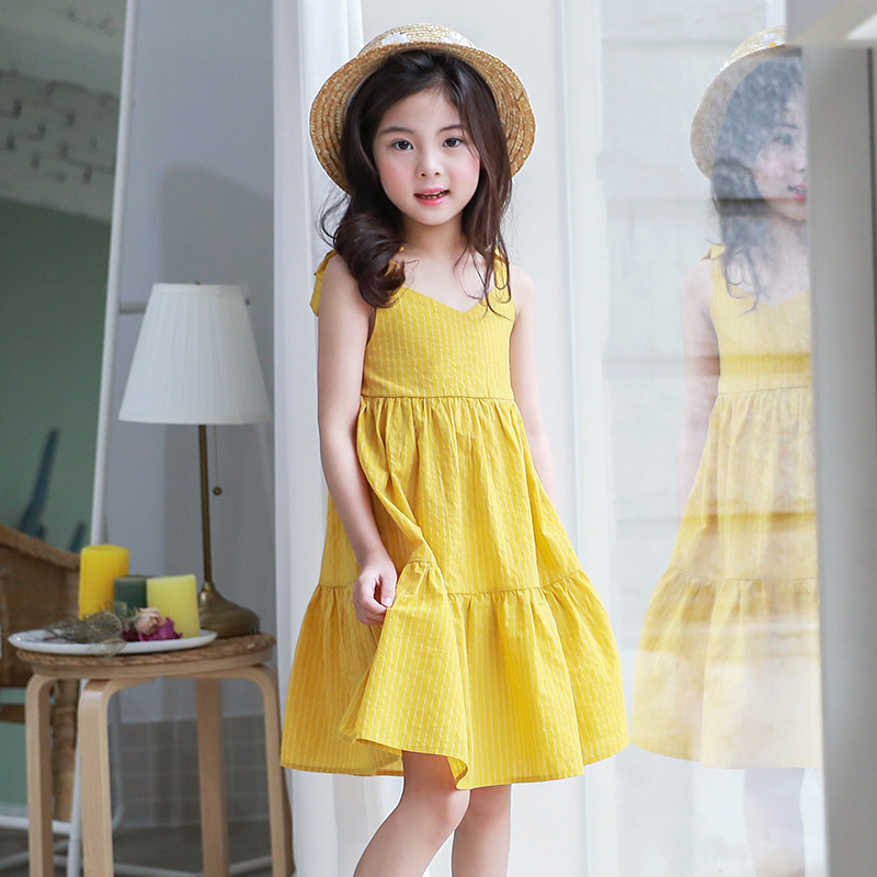 ruffles toddler dresses for girls of 15 6 7 10 12 11 4 years old sundress dresses children teenage kids holiday beach Clothes holiday inn resort phuket mai khao beach 4 о пхукет
