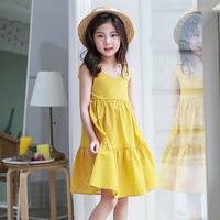 ruffles toddler dresses for girls of 15 6 7 10 12 11 4 years old sundress dresses children teenage kids holiday beach Clothes