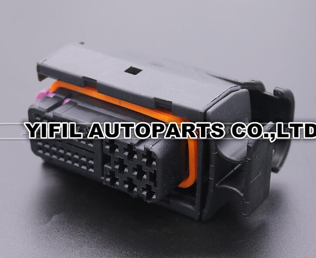 1/5/10pcs/lot 40 Pin/Way ECU Connector Ignition Wire Harness ...