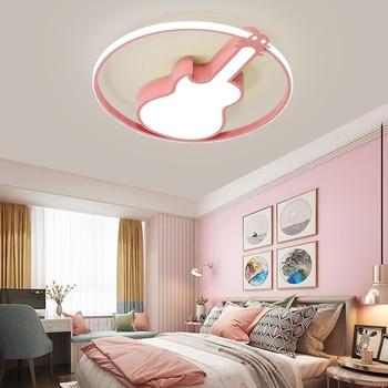 Moderne LED Decke Kronleuchter Kinder Schlafzimmer Studie Metall Oberfläche Installation Cartoon Kronleuchter Kinder Mädchen Und Junge Lichter