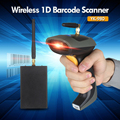 1D Barcode Scanner Wireless 433MHz Laser Portable Scanner 1D Bar Code Handheld Wireless Barcode Scanner 1D Code Reader YK-980