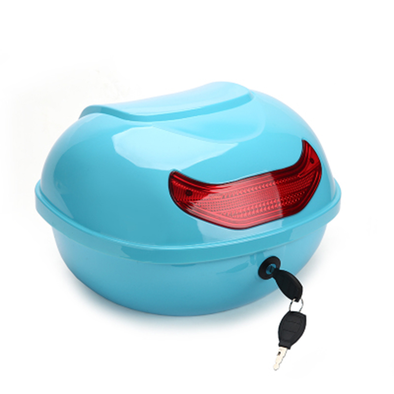 Мотоциклетная сумка для багажа ABS, полушлемовая сумка, коробка для хранения багажника, летняя сумка для инструментов, предупреждающая сумка...
