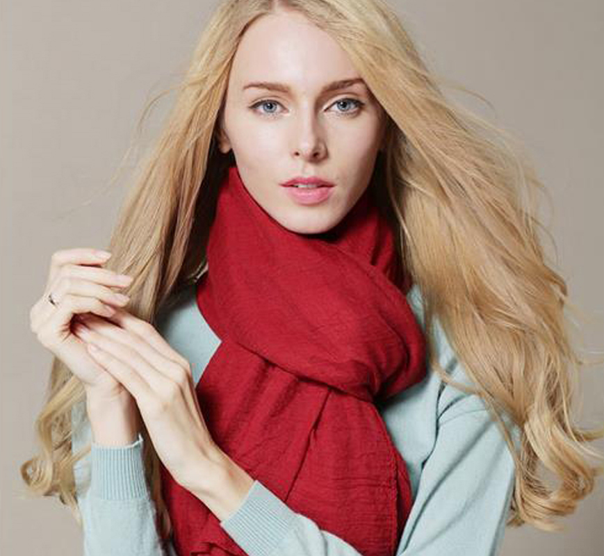 2017 hot sell cotton scarf Women Winter s