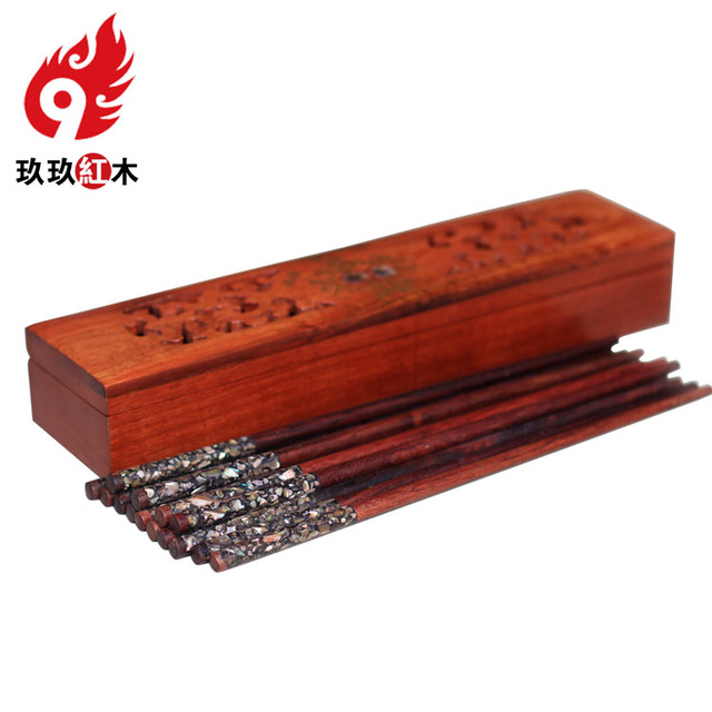 Rosewood Chopsticks Chopsticks Cage Creative Cassette