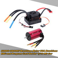 GoolRC S3660 3800KV Brushless Motor +80A ESC Set for 1/10 RC Car Truck Batteries/Controller and Accessories Parts toys
