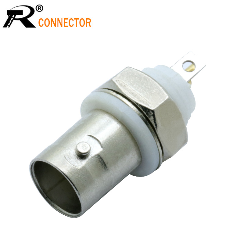 BNC FEMALE ISOLATED GROUND Connector For BNC Coaxial Video Ground Loop Isolator Cable CCTV BNC Balun Isolator