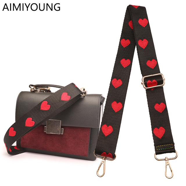 Aimiyoung Bag Strap Handbag Belt Wide Shoulder Replacement Accessory Part Adjule