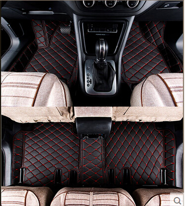 Best quality! Custom special car floor mats for KIA Niro 2018 waterproof Easy to clean rugs carpets for Niro 2017,Free shipping
