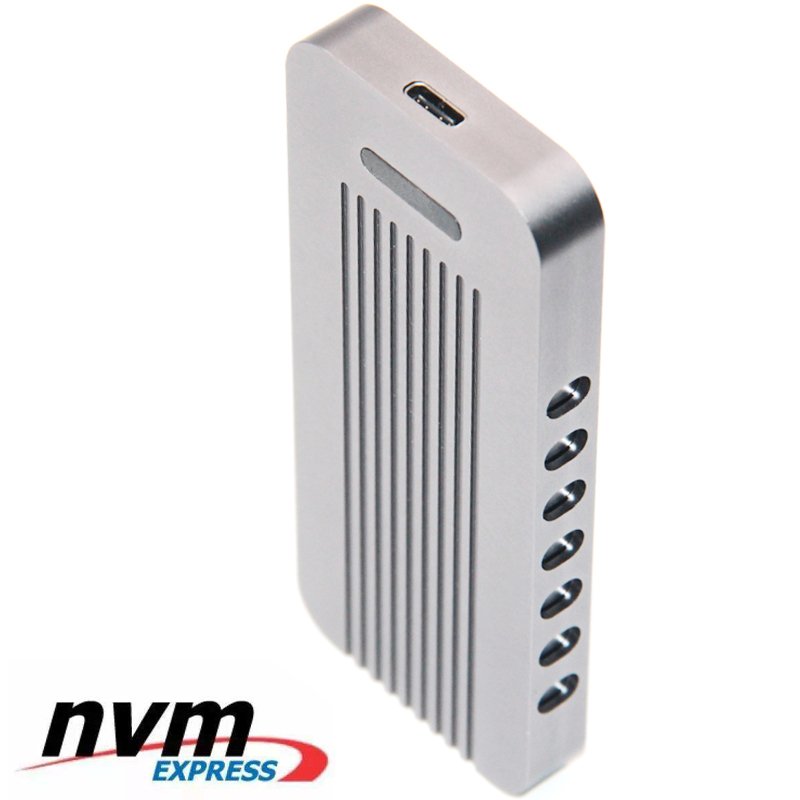 M key M.2 SSD Portable Mobile Box USB 3.1 Type C to NVMe PCIe 3.0 4x M2 for Intel 760P 960 EVO SM961 950 pro NGFF HDD Enclosure