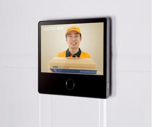 Image 2 - Youpin Luke porte intelligente sonnette vidéo oeil de chat édition jeunesse CatY gris Mihome App contrôle rechargeable IPS affichage grand Angle