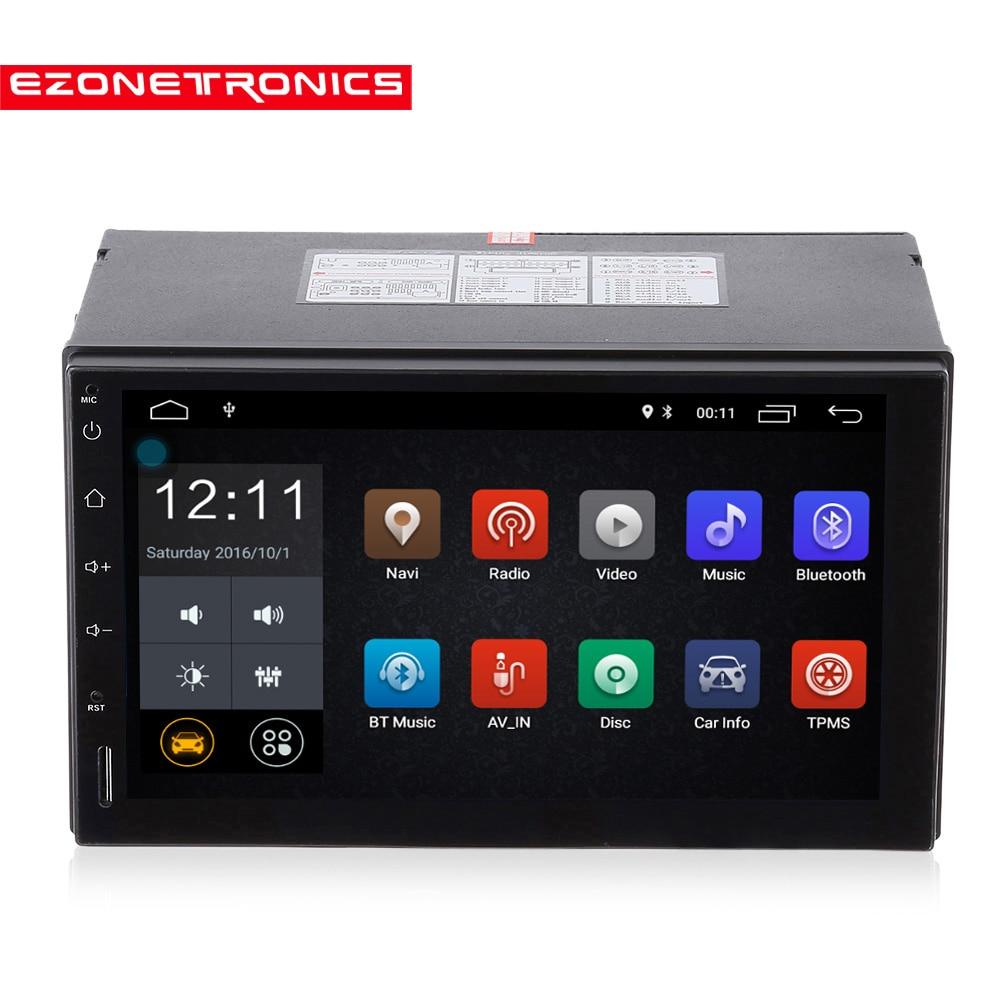 2 Din Android Car Radio Stereo 7 Car GPS Navigation Wifi Bluetooth USB Radio Audio Player