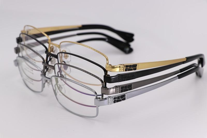 Ren titanium glasögonramar män optiska glasögon ram märke - Kläder tillbehör - Foto 3