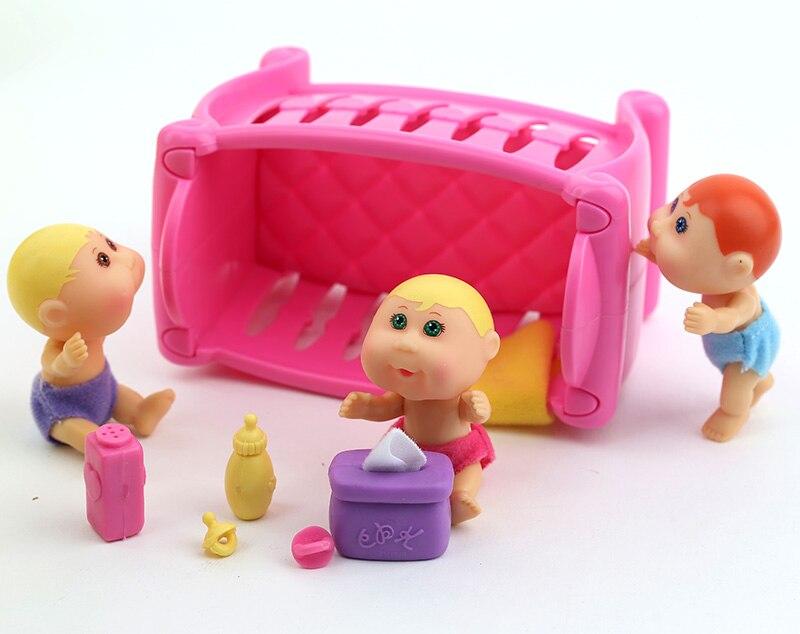 Orijinal Şirin Kələm Patch Uşaqlar Evi oyuncaqlar dəsti uşaqlar - Kuklalar və kuklalar üçün aksesuarlar - Fotoqrafiya 5