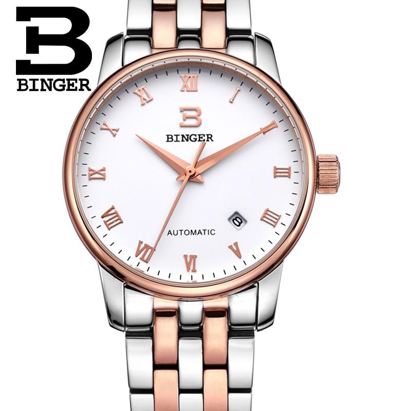 Svájc órák férfi luxus márka18K arany Karóra BINGER business - Férfi órák - Fénykép 3