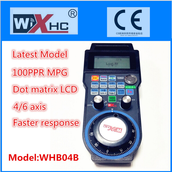 Factory of Wireless Electronic Handwheel MPG Mach3 6 axis cnc remote with usb disk CNC Milling Machine  цены