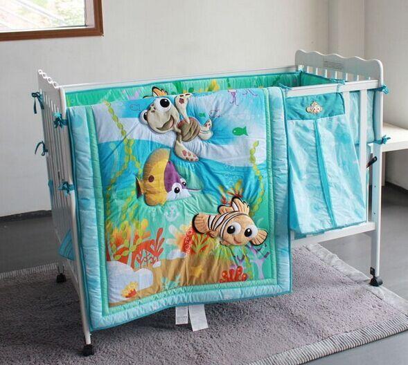 Crib Bedding Set Pieces