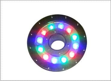 Ip68 impermeabile in acciaio inox 316 ac12v 18 w 3 in rgb ha condotto la luce fontana controllo dmx512 applicabile in dolce/salt (mare) acqua