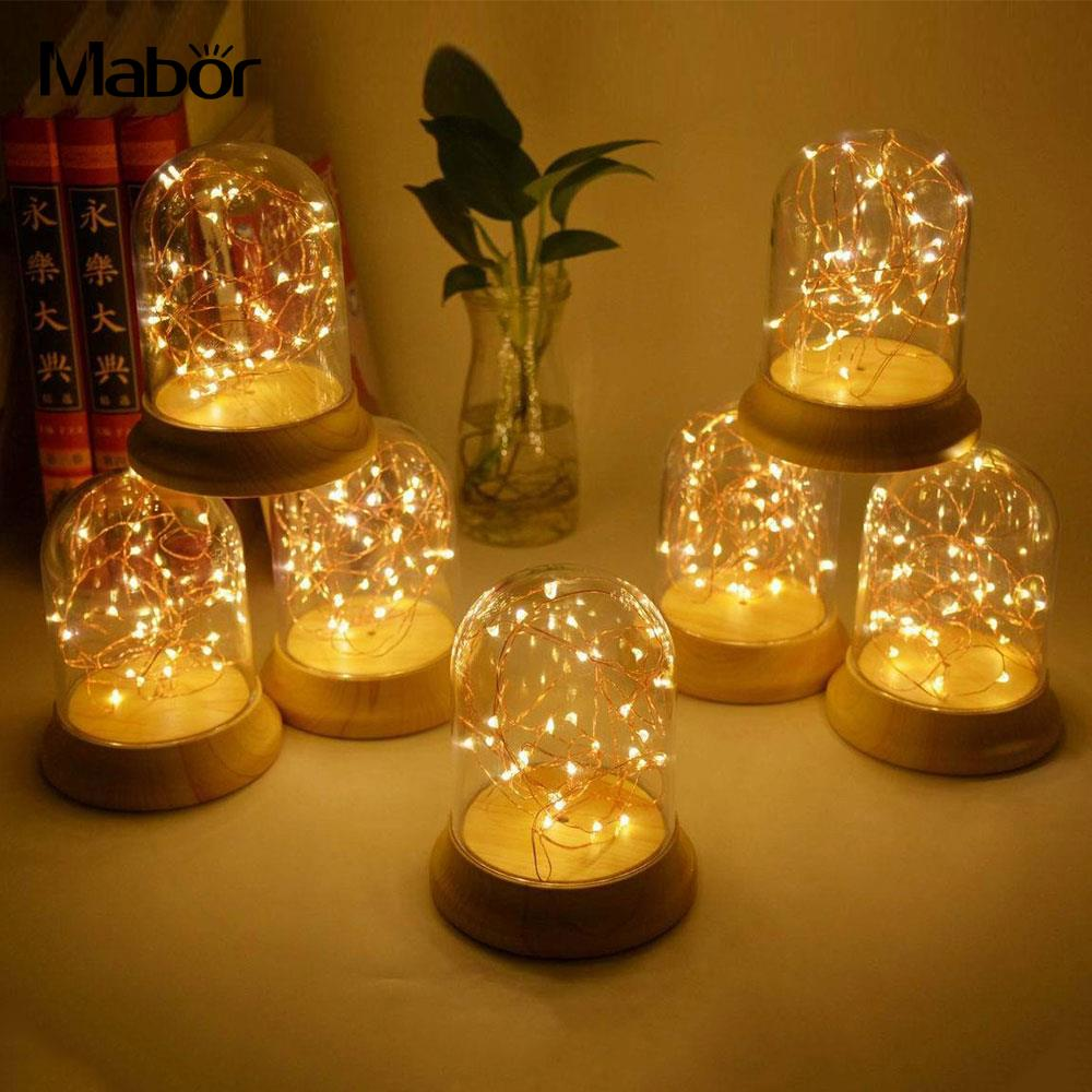 Night Light Lighting Fixture Beautiful Silver Flowers Novelty Room Decor Home Decoration Girlfriend present