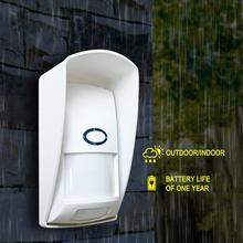 CT70/60 屋外防水ワイヤレスpirセンサー赤外線モーション検出器 433mhz免疫抗ペットのためのホームセキュリティ警報システム