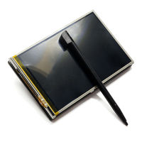 3 5 Inch Raspberry Pi LCD RPI Screen Display TFT 320 480 Resolution Resistive Touch