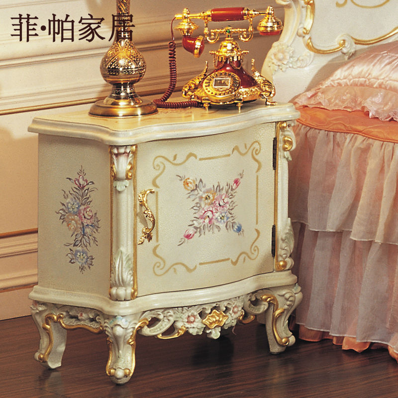 royal classic european furniture solid wood cracking paint antique ...