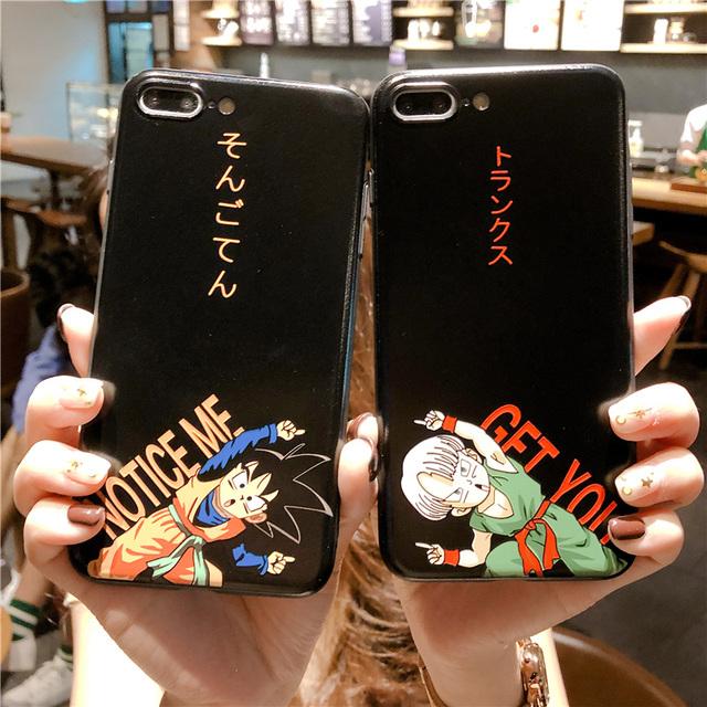 GOKU & VEGETA IPHONE CASE
