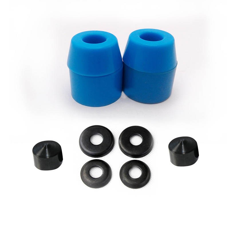 Replacement Shock Absorber Skateboard Truck Rebuild Bushings Washers Pivot Cups Black / Red / Yellow / Blue 7 Inch Skateboard