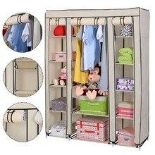muebles modernos dormitorio no tejido vestir armarios armarios armario porttil miscelneas gabinete de a prueba de polvo venta