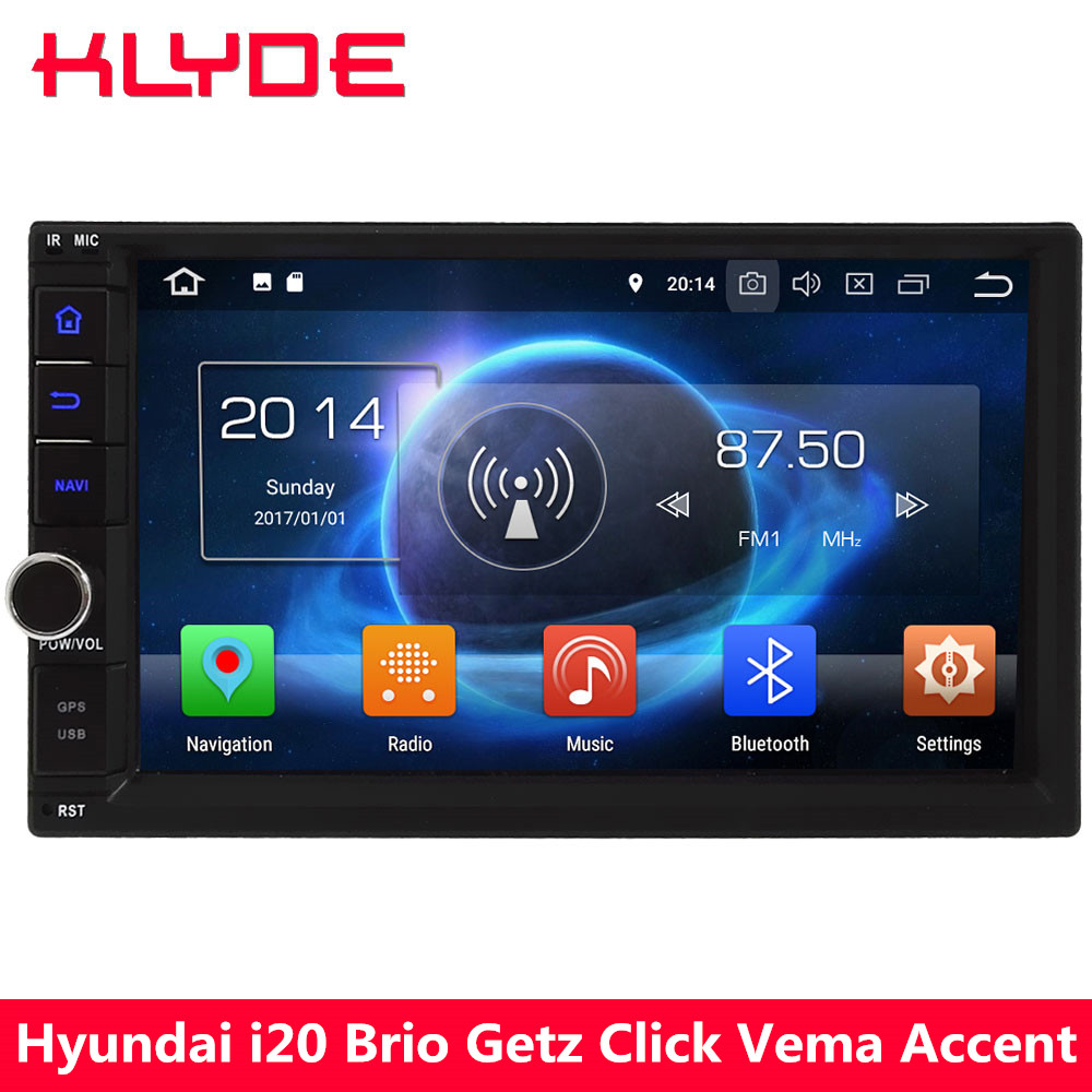 KLYDE 7 Octa Core 4G Android 8 0 4GB RAM 32GB ROM 2Din Universal Car DVD