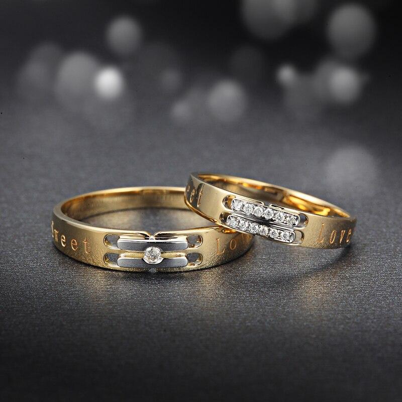 Diamond Engagement Ring Wedding Couple Set 0 02 0 04 Carat Jewelry