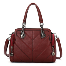 YILIAN Female bag 2018 New product women fashion fallow handbag embroidering Oblique cross package 1609