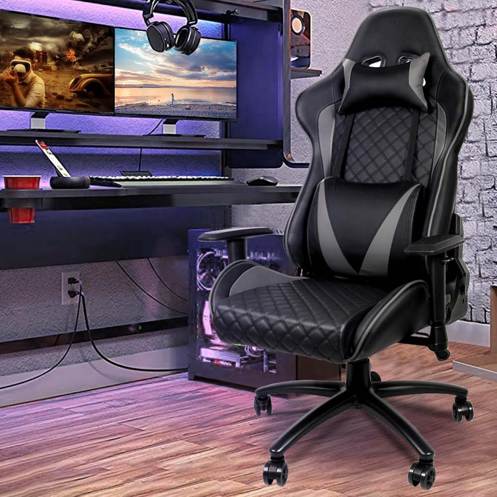 Ergonomic Computer Gaming Chair Racing High Back
