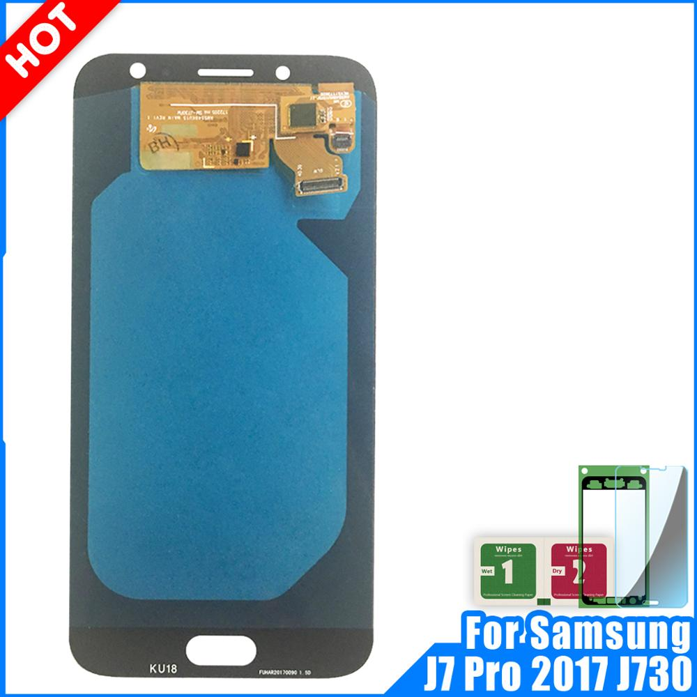 High Quality 100% NEW LCD For Samsung Galaxy J7 Pro 2017 J730 J730F LCD Screen Display Touch Digitizer Assembly ReplacementHigh Quality 100% NEW LCD For Samsung Galaxy J7 Pro 2017 J730 J730F LCD Screen Display Touch Digitizer Assembly Replacement