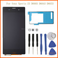 """CPPA 5.0"""" NEW white black lcd display touch screen digitizer full Assembly with tools adhesive For Sony xperia z3 D6603 D6653"""