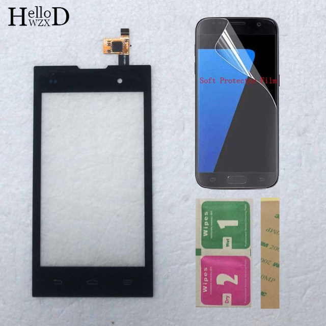 4.0 Mobile Touch Screen For ZTE Kis 2 Max V815 V815W Touch Front Glass Sensor Touch Panel Digitizer Touchscreen Protector Film