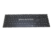 Crystal Keyboard For MSI CR72 6M 2QD CX62 CX72 6QD GS63VR 6RF GT73EVR 6RE 6RF 7RD 7RE 7RF GP72 6QE 6QF GE72VR 6RF US English