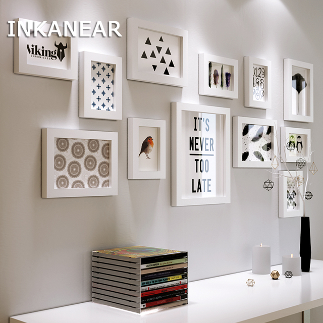 Multi frame Fotolijsten Home Decor Moderne Woonkamer Mode Schilderen ...