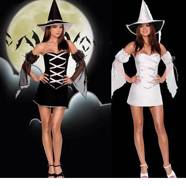 Hot Sale Witch Costume Halloween Party Witch Costume Women Sexy Cosplay  Costumes 5f50b0a88