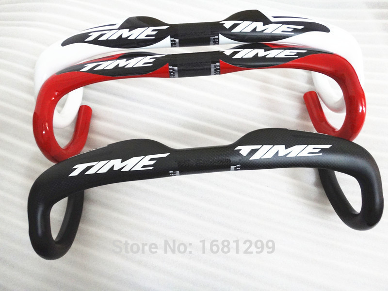 Newest black red white road UD full carbon fiber bike handlebar carbon bicycle Handlebar light 31.8*400/420/440mm Free Shipping 2017 newest red white black colors mountain