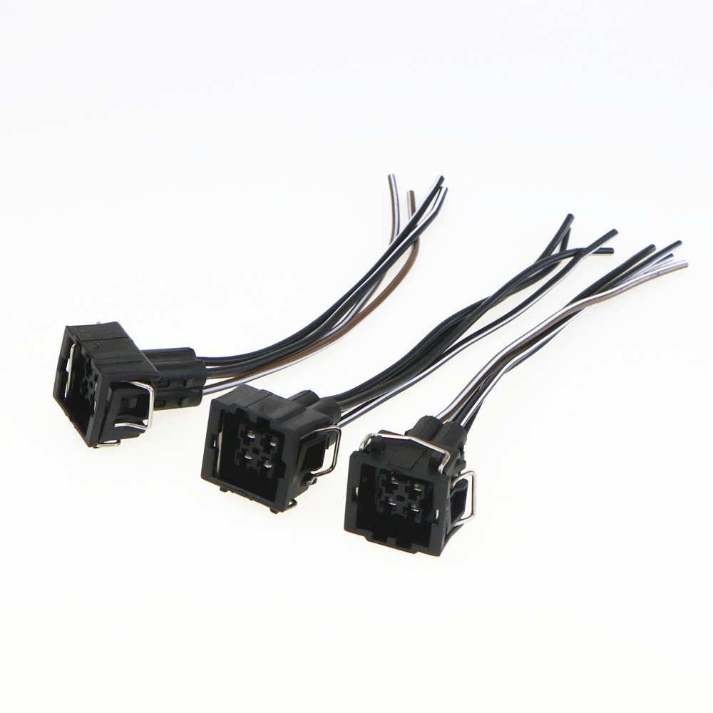 Desoul Qty 10 Car Air Conditioning Pressure Switch Plug For Wiring With Soul Vw Passat B5 A4 A6 S4 S8 357 919 754 357919754