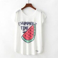 Short Sleeve Cartoon Fruit Animal Dog T-Shirts