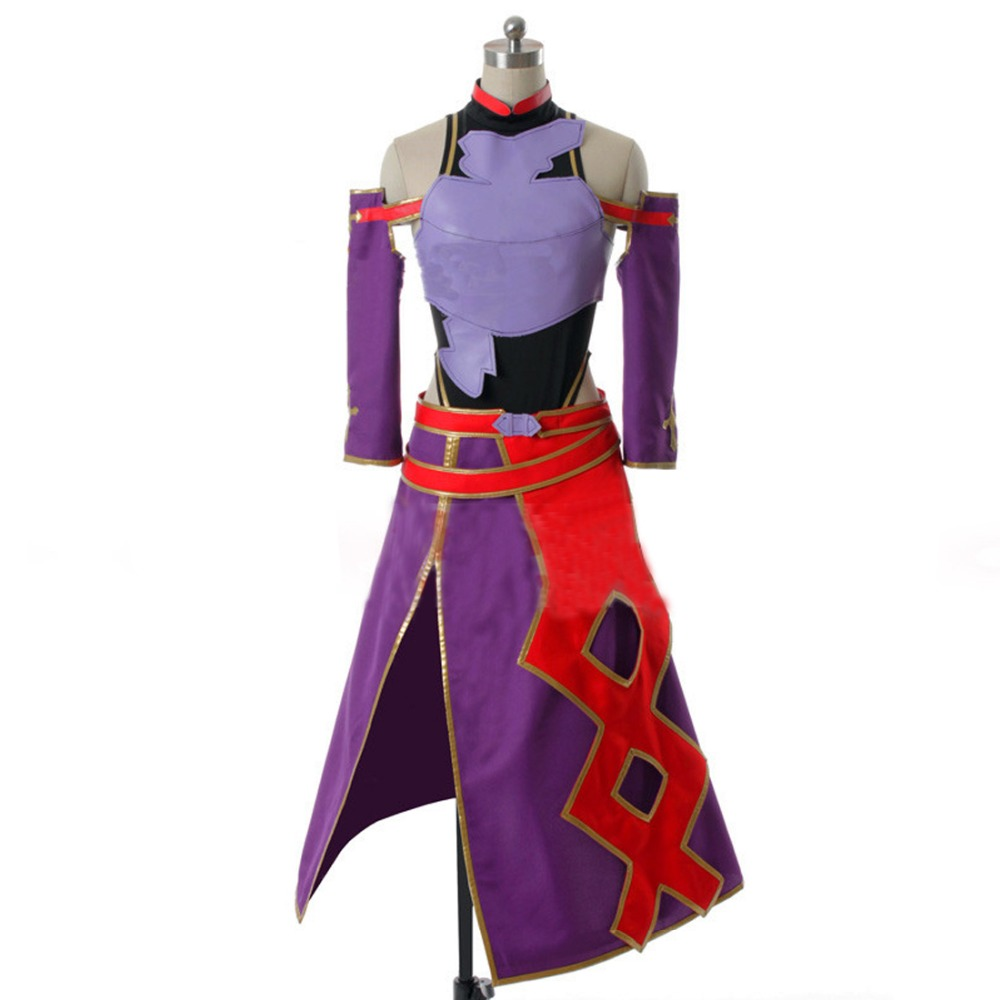 2017 Custom Made New Arrival Anime Sword Art Online ALO Konno Yuuki Outfit Cosplay Costume for