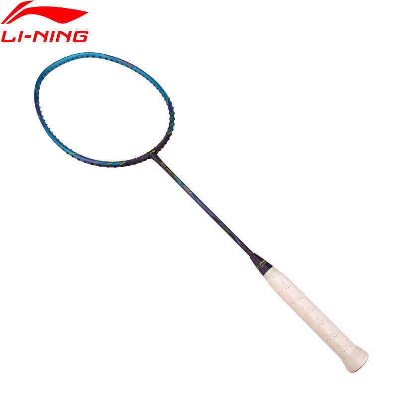Li-Ning 3D CALIABR 001 Badminton Rackets Speed Type Single Racket LiNing Basic Sport Racket AYPP008 EAMJ19