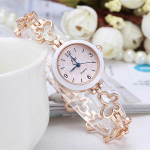 Quartz Bracelet Watch Fashion Women Luxury for Wholesale 100pcs/Lot Wrap Heart-Strap
