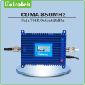 70dB cdma signal amplifier FDD Band 5 CDMA 850 mhz signal repeater GSM 850mhz mobile phone signal booster with LCD Display
