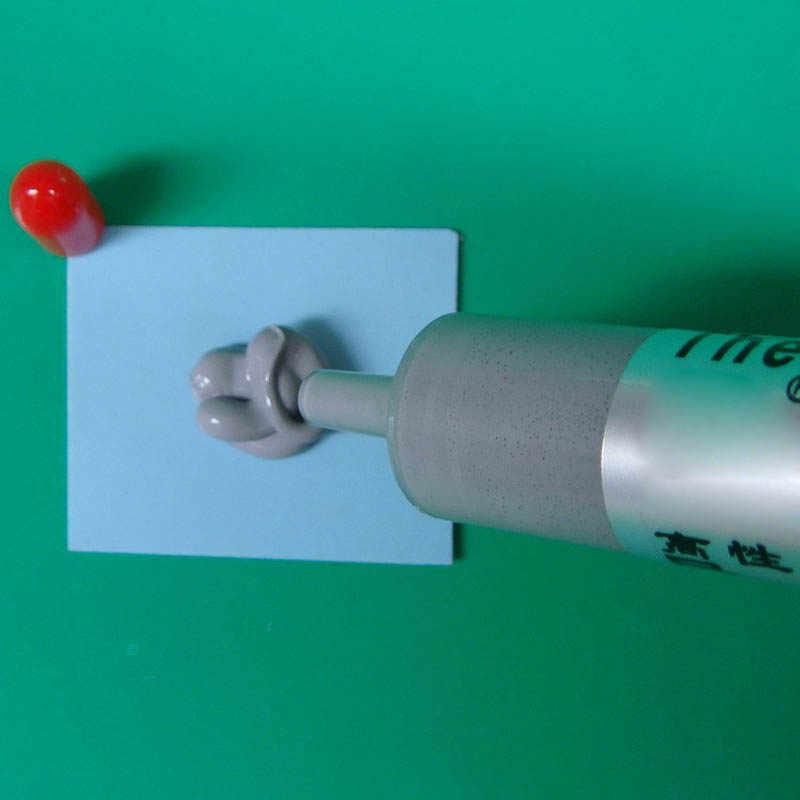 新熱伝導性グリースペーストシリコーン石膏ヒートシンク化合 cpu BR7