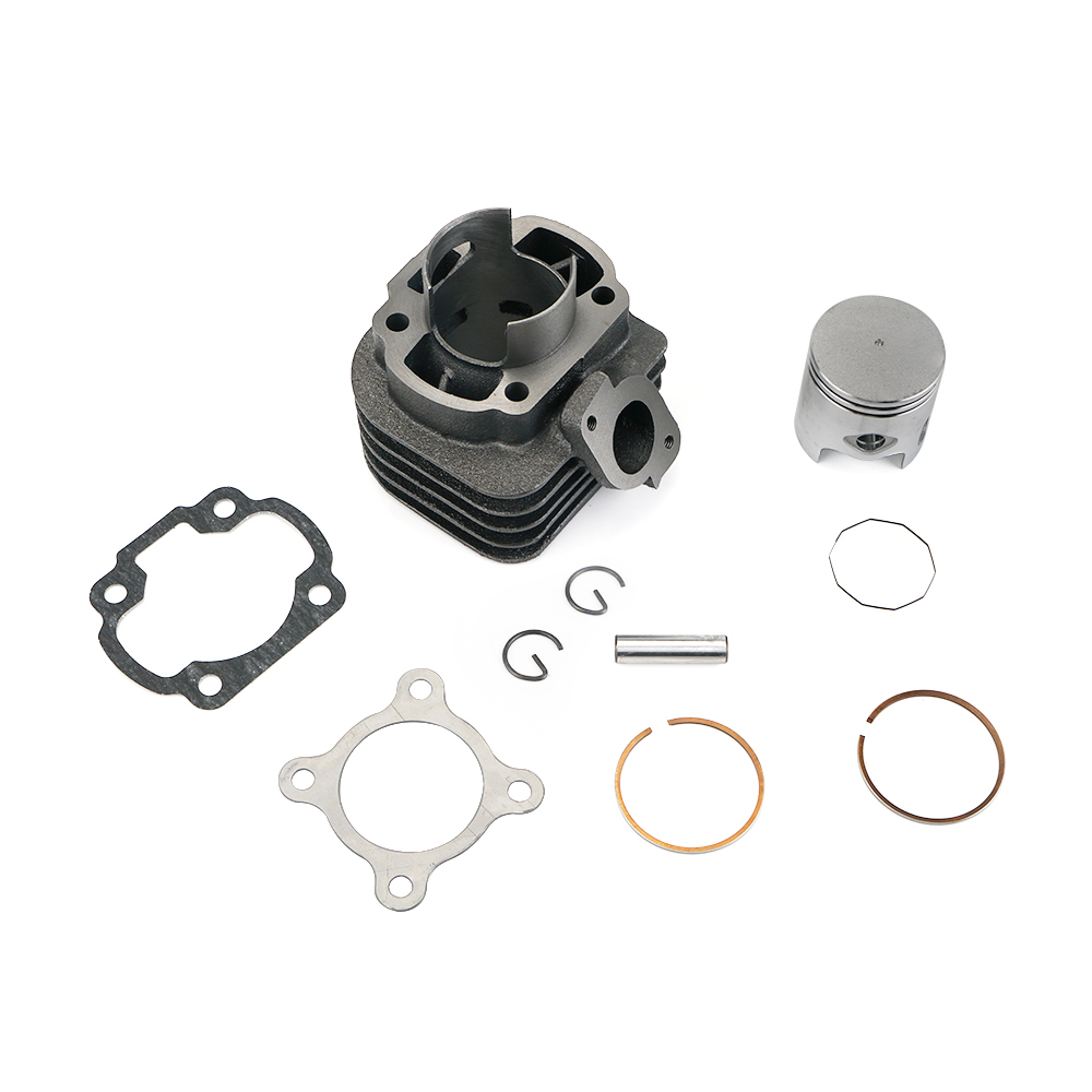 Cylinder Kit with 10mm Piston for Jog Zuma Vino 2 Stroke 50cc Scooter 1E40QMB Engine