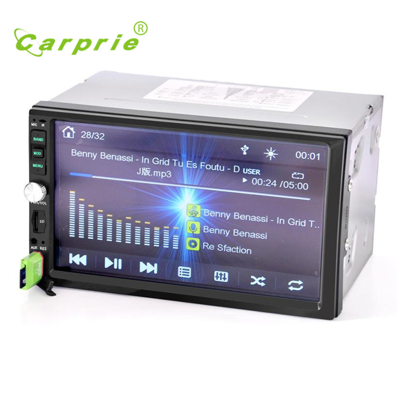 Audio In-Dash USB / TF  Bluetooth Car Stereo Audio In-Dash Aux Input Receiver SD/USB MP5  new high quality fashion hot 17may15