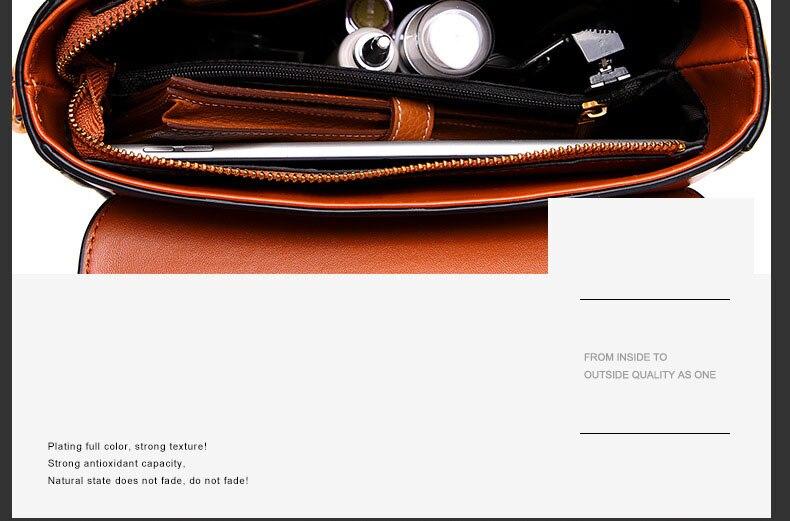 Vintage Real Leather Wide shoulder strap Handbag premium quality fashion genuine leather Shoulder Bags of Famous Brand (18)