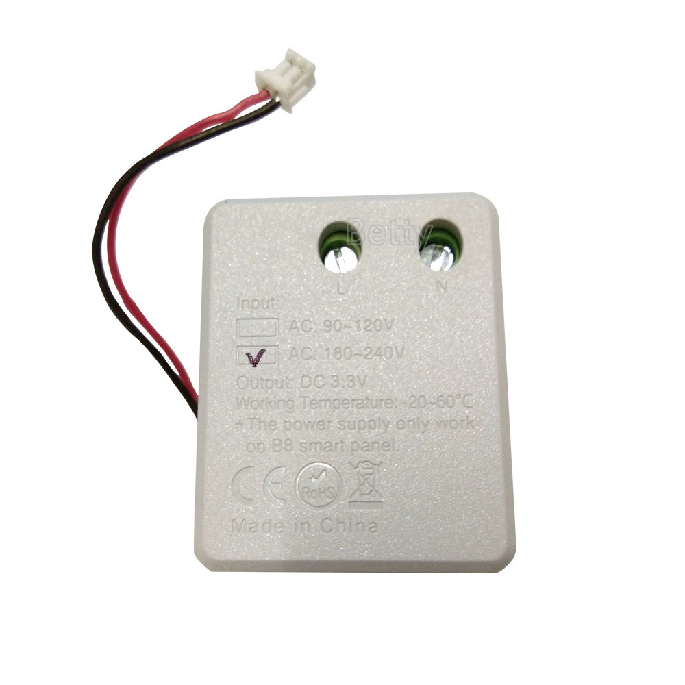 DC3.3V power only work on milight B8 smart panel controller